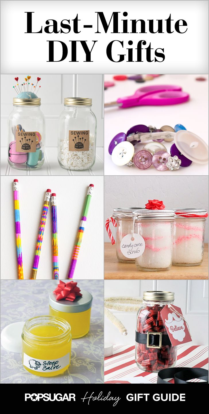 25 Last Minute Diy Gifts That You Can Whip Up In No Time Diy Gifts Last Minute Easy Diy Gifts Easy Diy Christmas Gifts