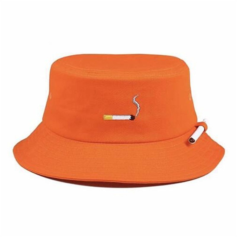 71c32877984 12.86  Buy here - C2H4 NO CHILL Orange Color Bucket Hats 2017 New Fashion  Harajuku