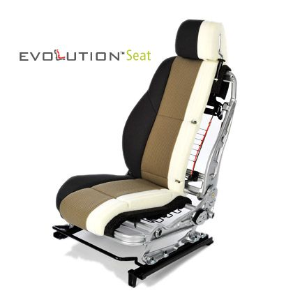 Lear Evolution Seat Cross Section Custom Car Interior