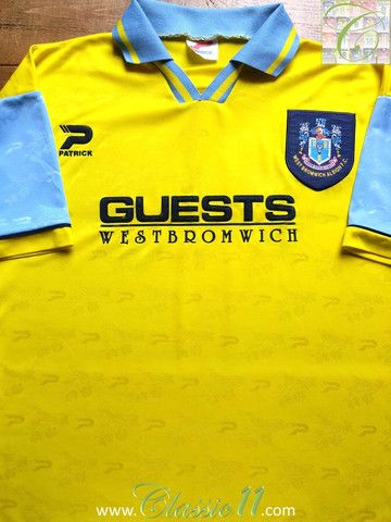 Pin On Classic West Bromwich Albion Football Shirts