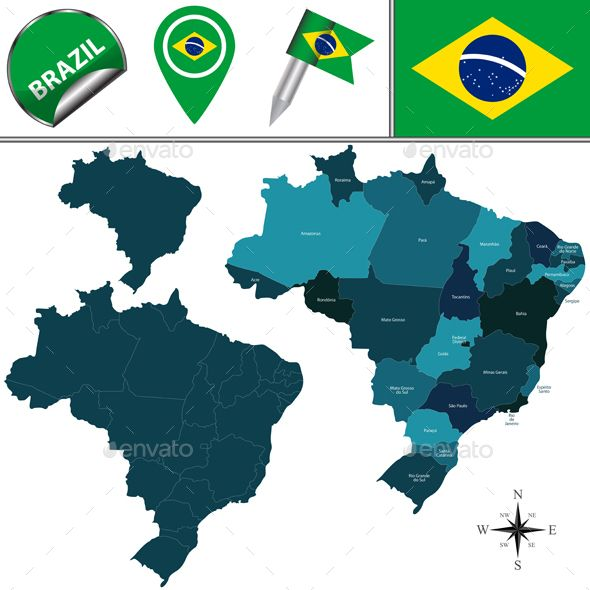 Brazil Flag And Map Design Map Icons Flag Icons Brazil Icons Png And Vector With Transparent Background For Free Download Map Design Free Vector Illustration Flag Icon