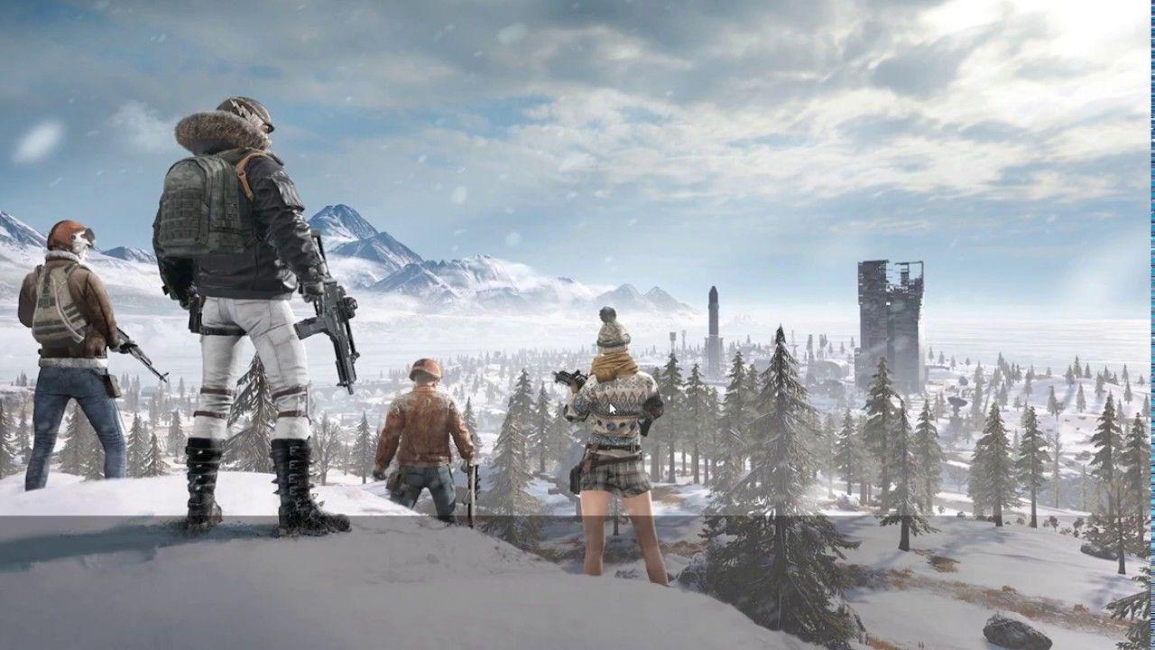 PUBG Snow Map Vikendi Gameplay [1080p 60fps] | Games in 2019