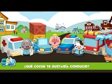 dr panda carros de policia bombero ambulancia para nios juegos de os