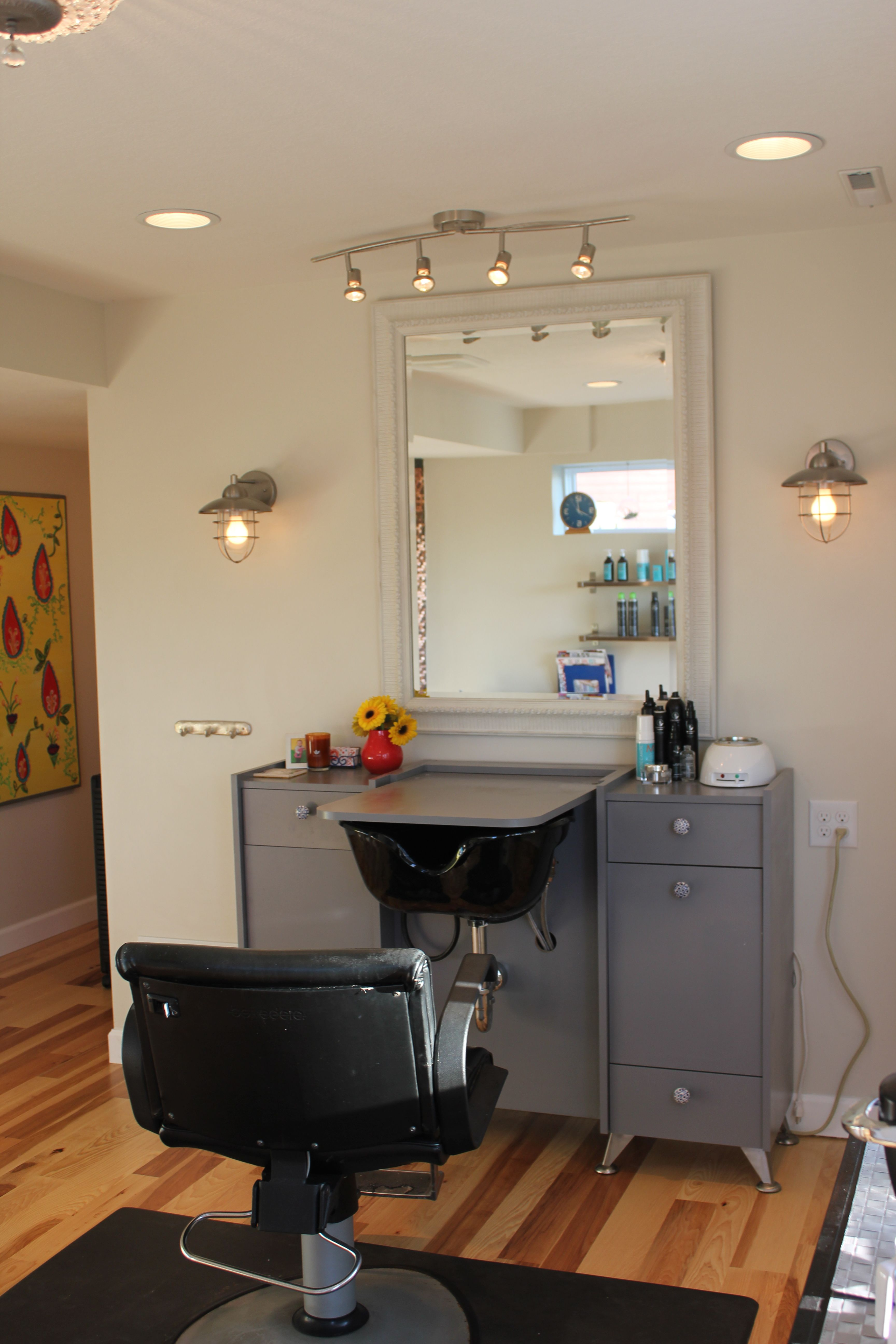 My Station Salon Interior Design Salon Suites Decor Home Hair Salons