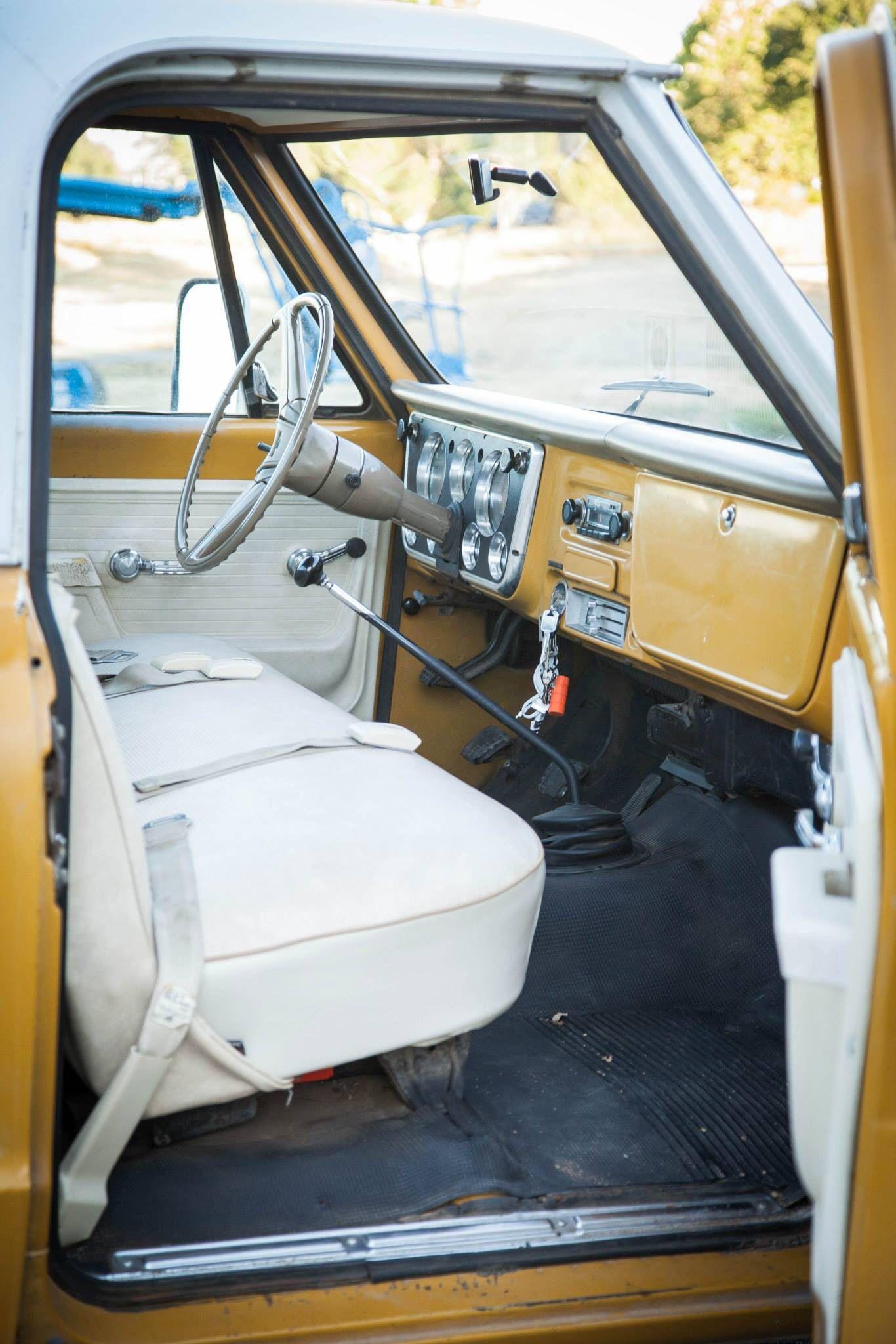 The Nearly Perfect Original Interior Of My 1972 Chevy Longhorn Truck Gmc Trucks Truck Interior Trucks