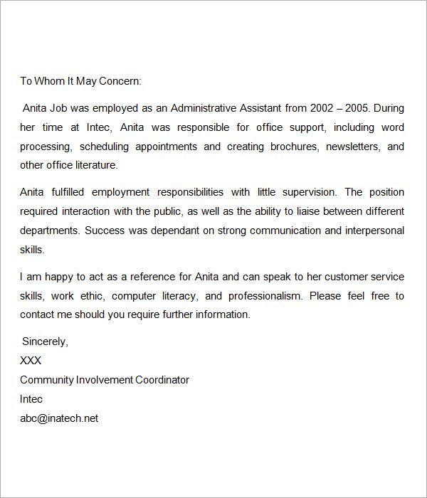 sample recommendation letter for nurses free professional resume