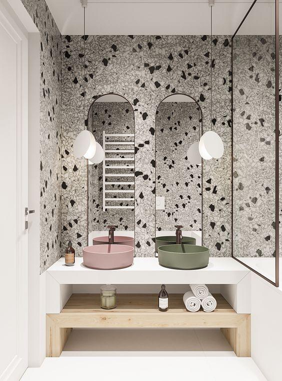 Photo of Terrazzo wallpaper#Interior#decoration