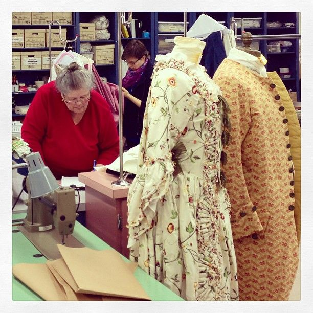 Colonial Williamsburgu0027s Costume Design Center Behind-the-Scenes Tour. & Page Not Found | Pinterest | Costume design Colonial and Scene