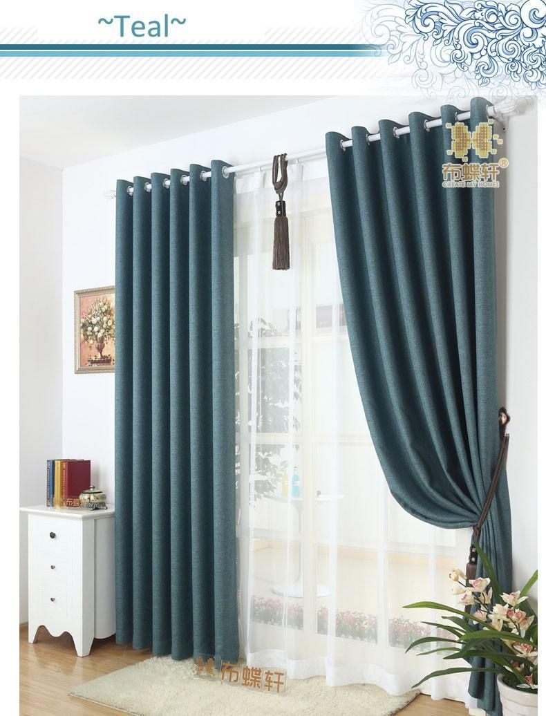 Furniture Soundproof Room Divider Curtain Full Blackout Curtains