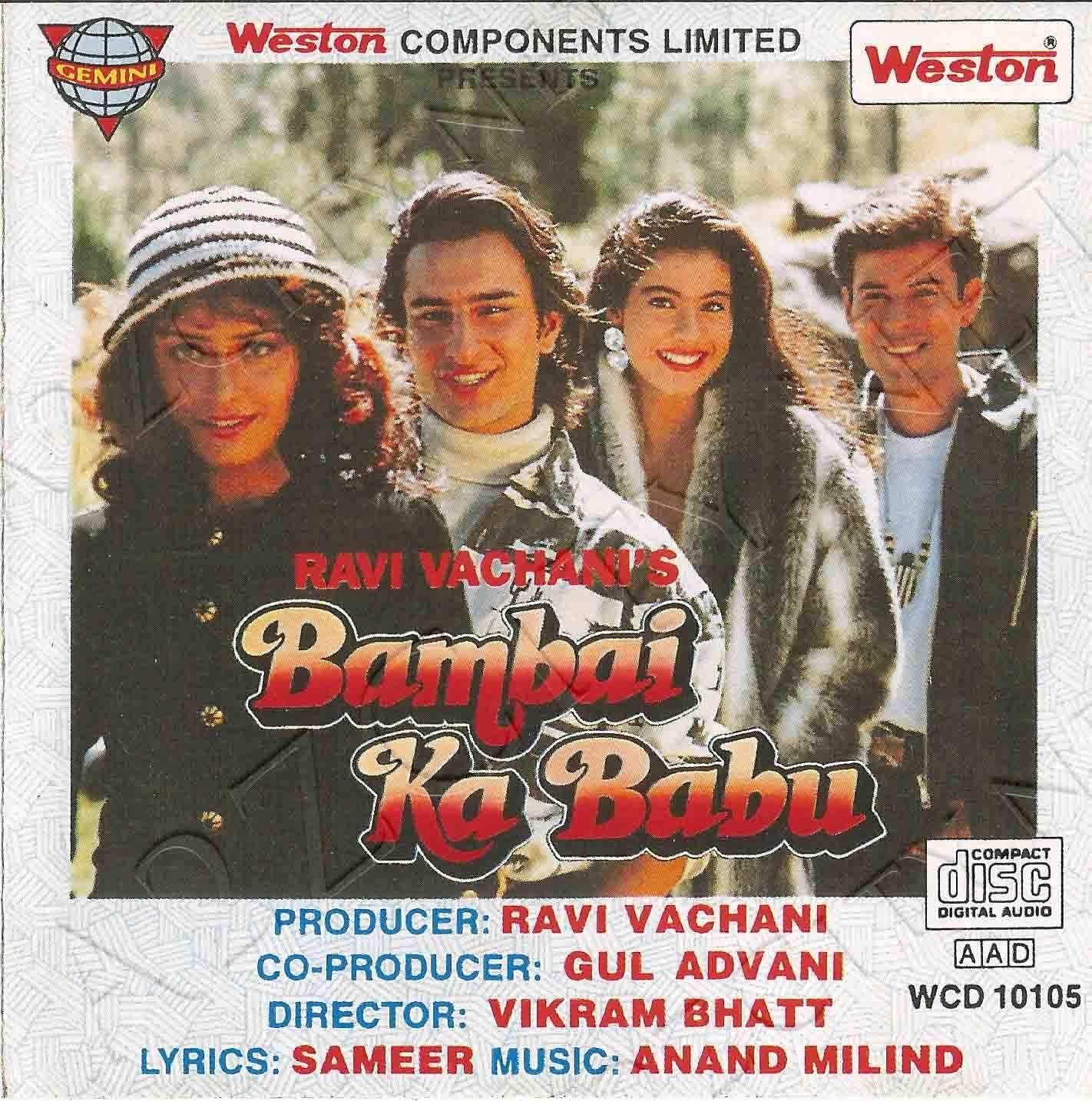 bambai ka babu 1996 mp3 songs free download