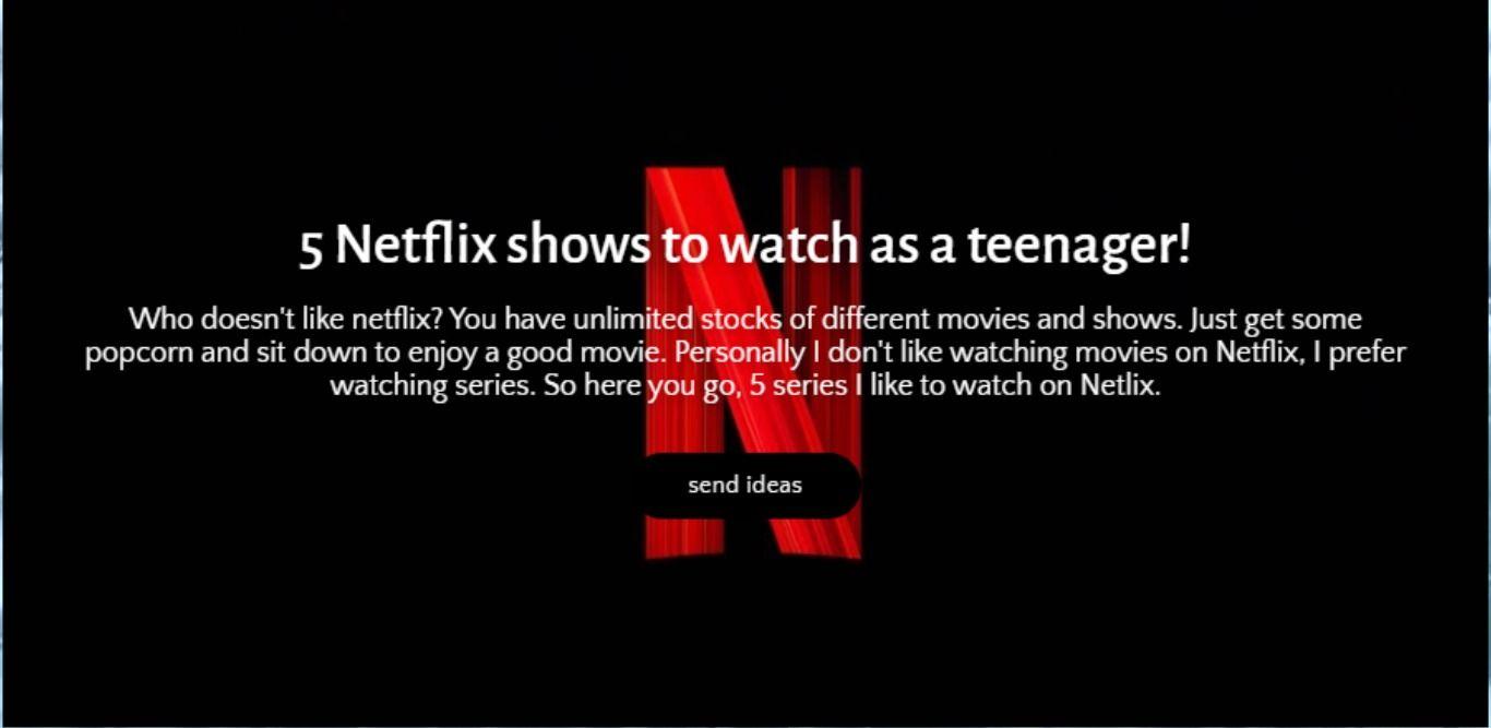 MADJIK READ A BOOK Netflix shows to watch, Shows on