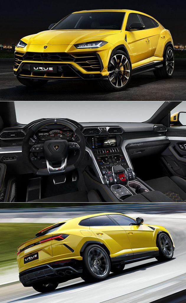 Lamborghini Urus Officially Revealed Is Worldu0027s First Super Sport Utility  Vehicle