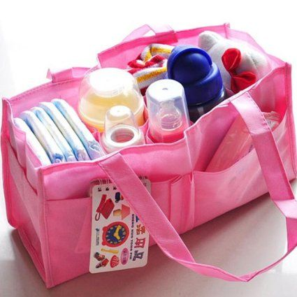 Mother Bag Travel for Storage Baby Bottles Nappy B...