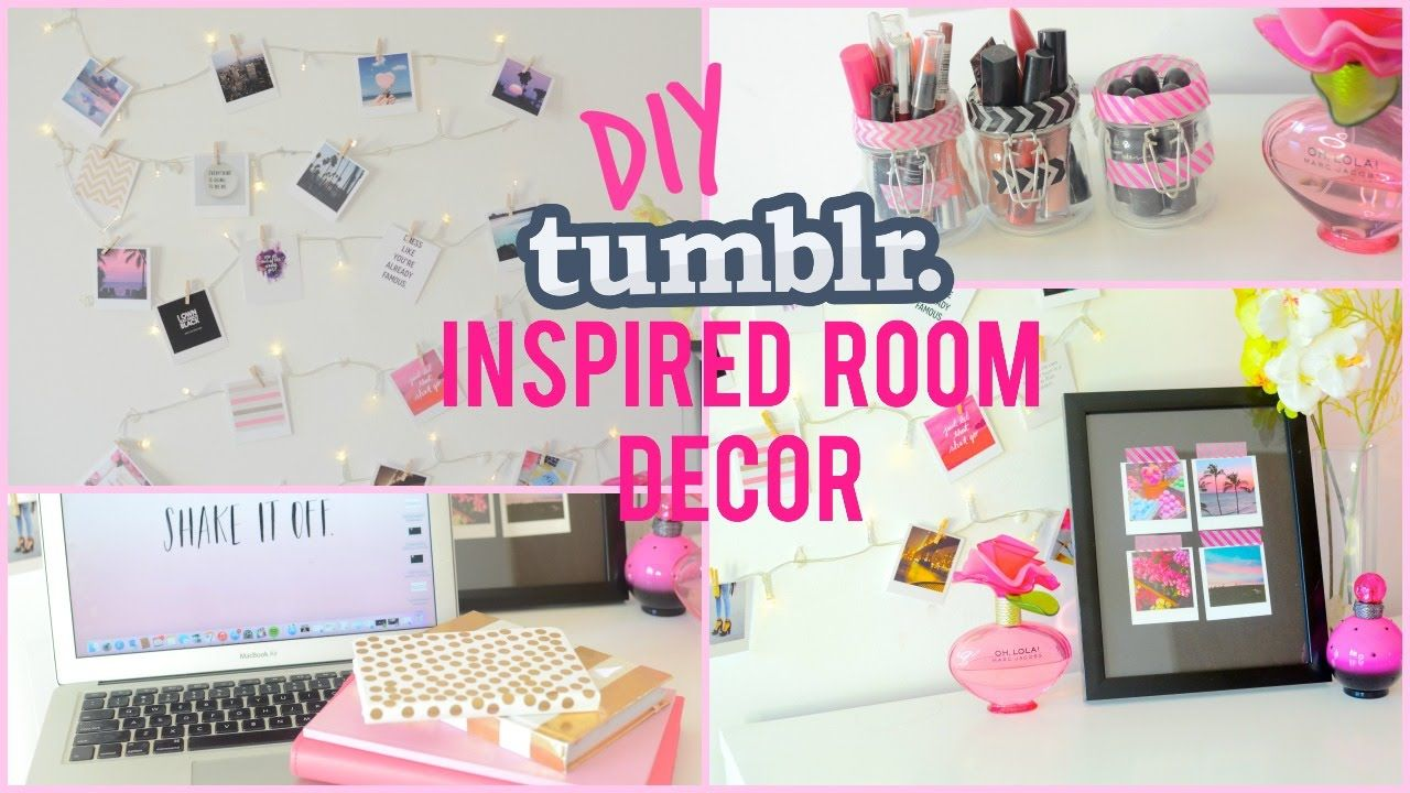 diy tumblr & pinterest inspired room decor | dizzybrunette3 | diy