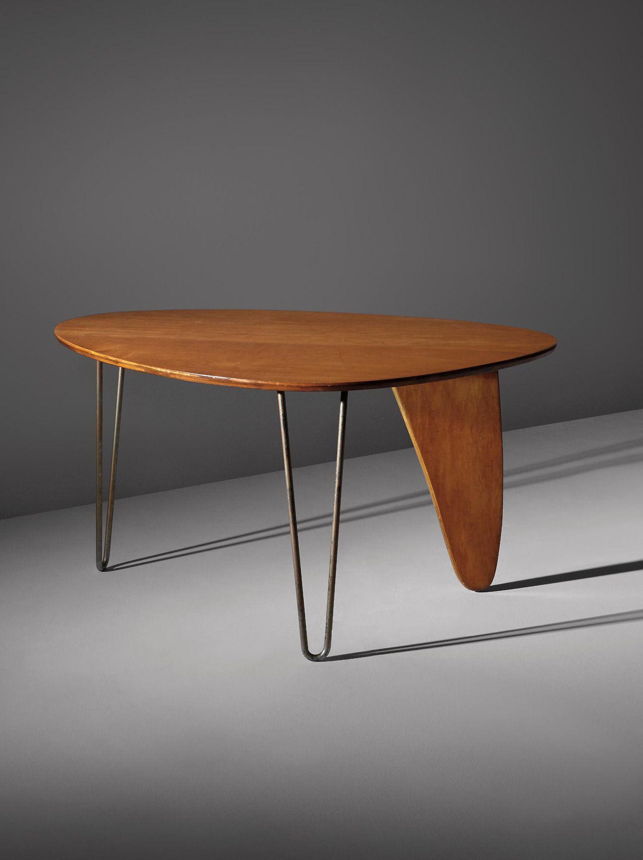 ISAMU NOGUCHI Rudder Dinette Table Model IN USA C - Noguchi rudder table