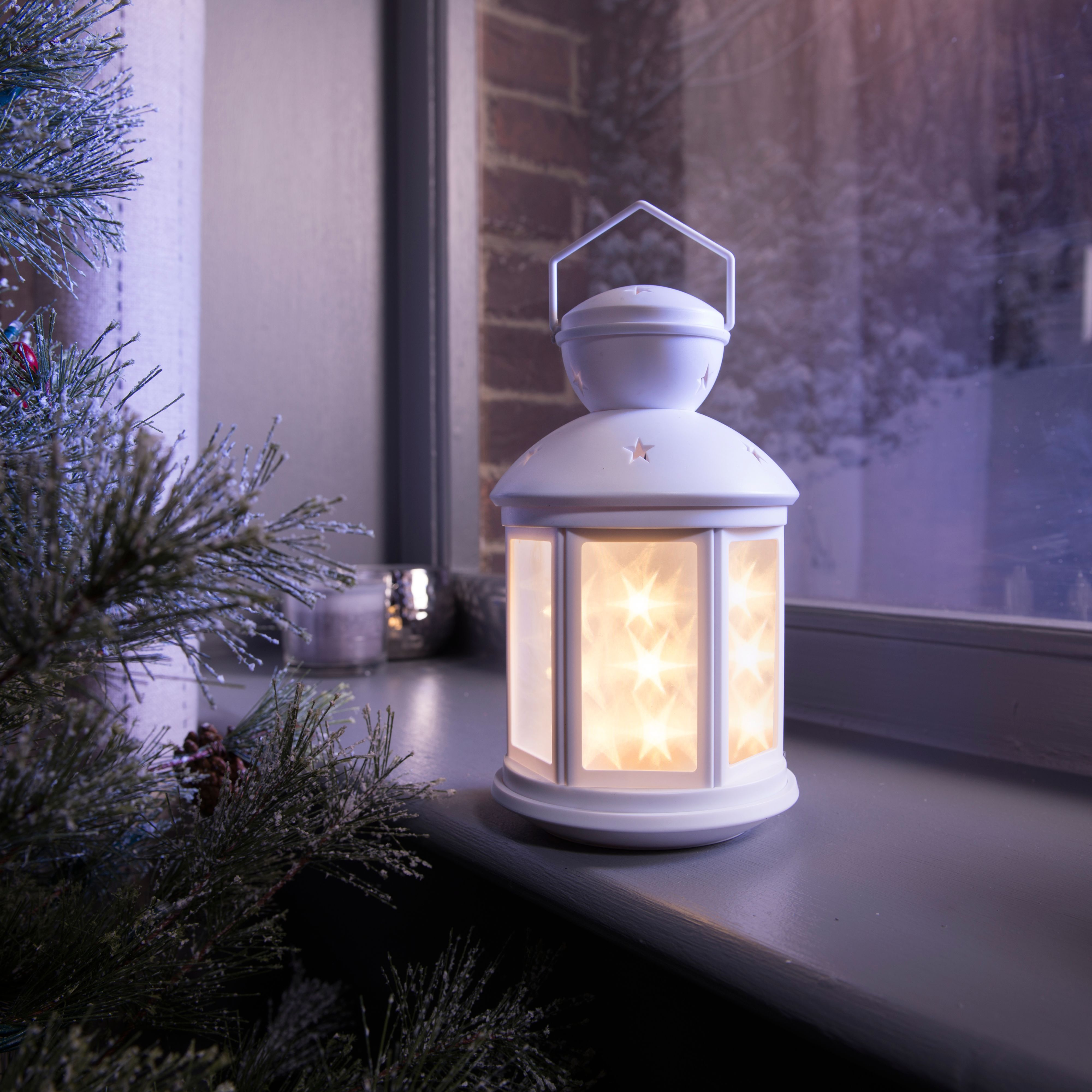 One of the most important elements of Hygge is soft, intimate lighting. Relax and absorb the twinkling soft glow of a lantern after an evening of entertaining friends.