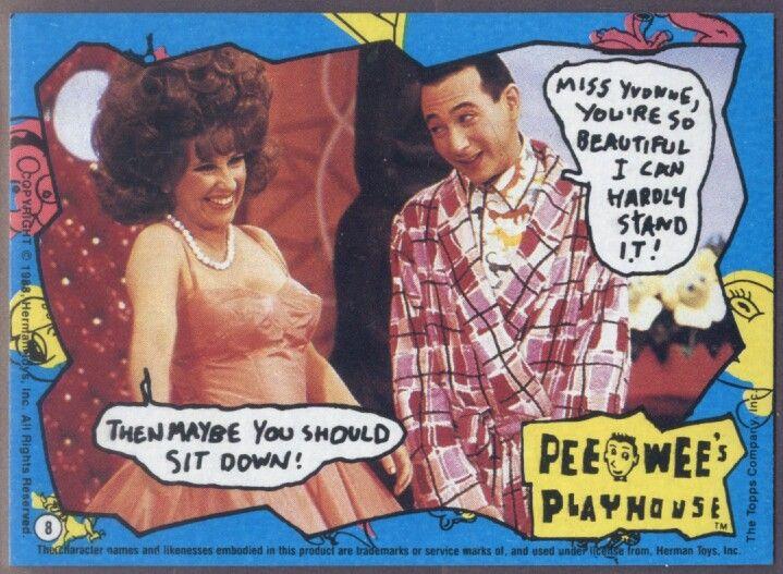 <3 Pee Wee's Playhouse