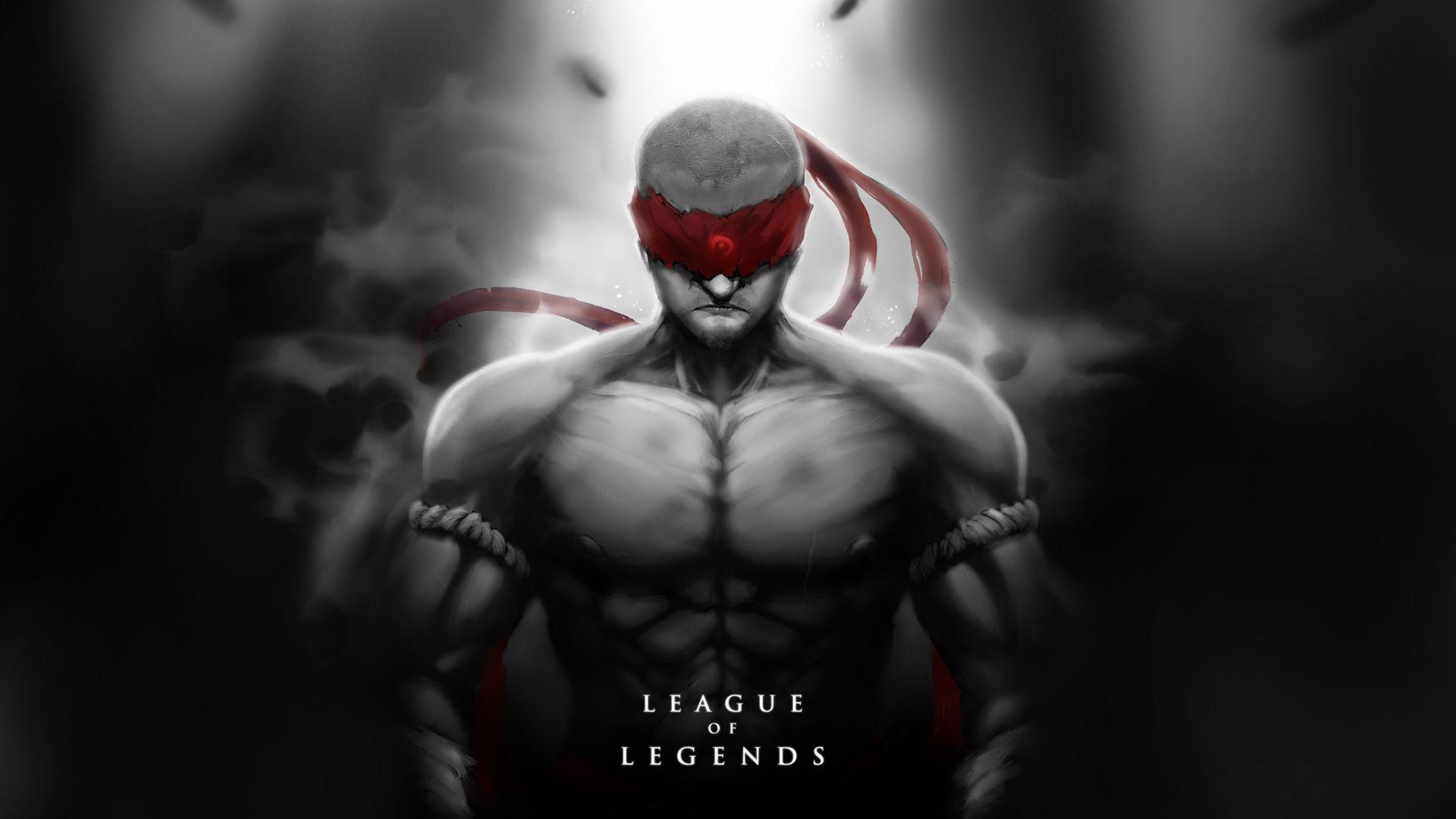 Lee Sin Walpaper Leagueoflegends Lol Champions League Of Legends League Of Legends Poster