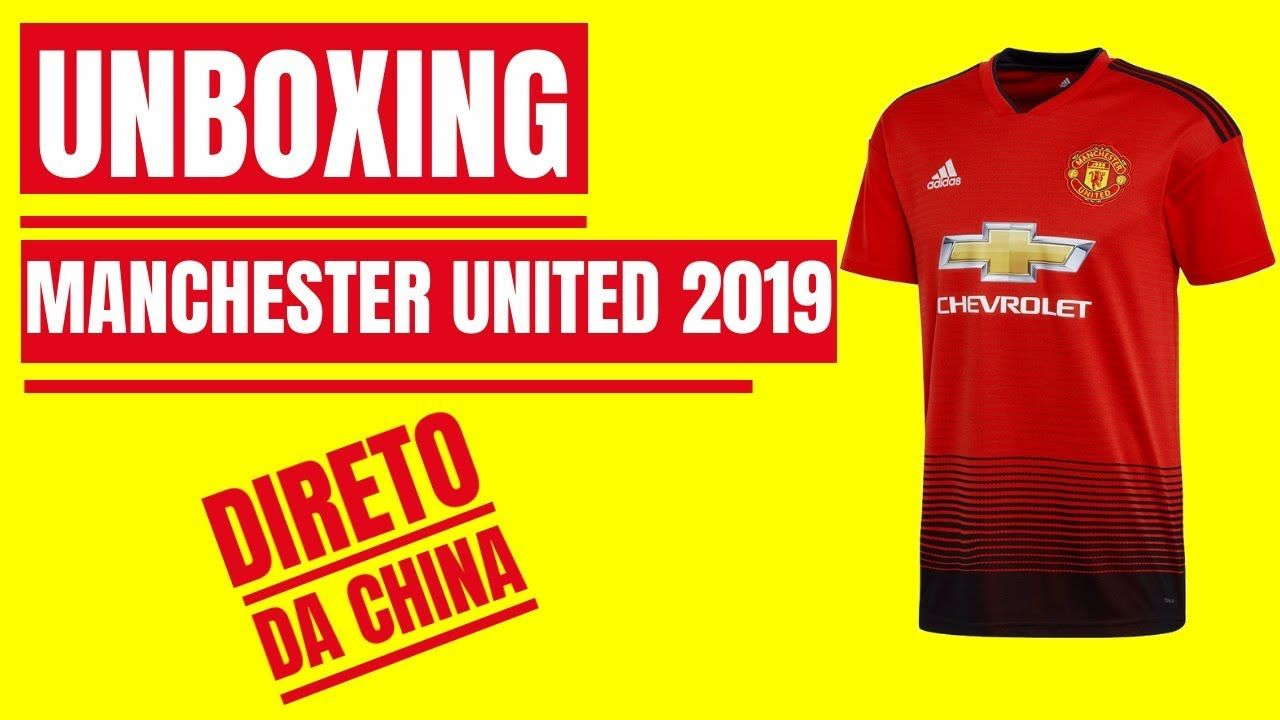 ⚽UNBOXING Camisa Do MANCHESTER UNITED