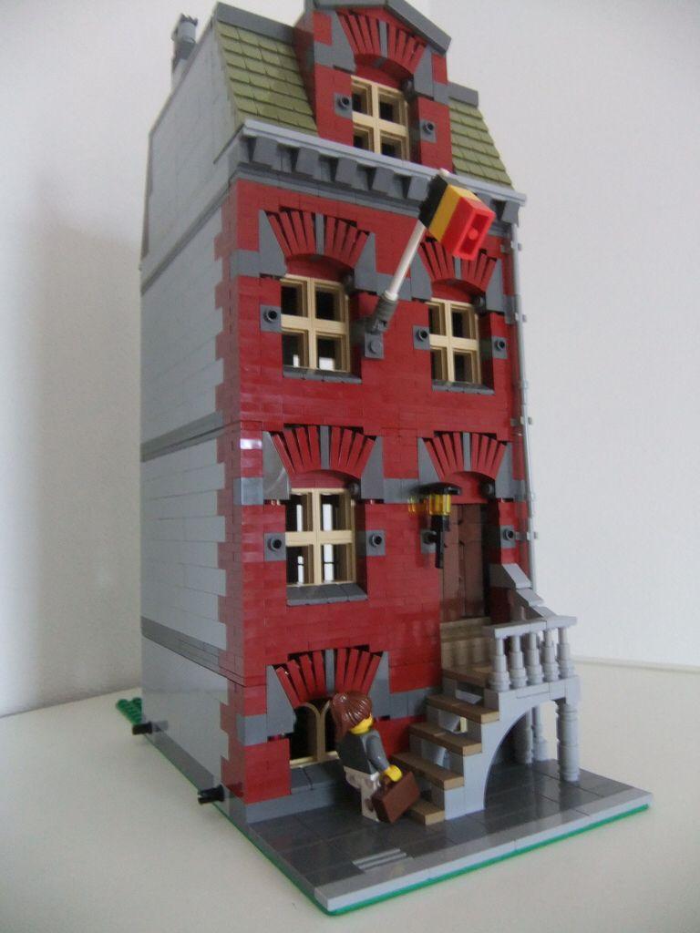 Belgium House By Christiaan De Roo Lego House Lego Stadt Lego