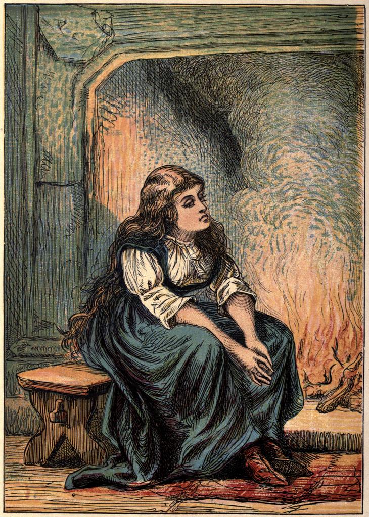 Cinderella (find the artist) 1865
