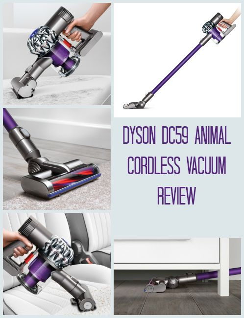 Dyson Dc59 Cordless Vacuum Cleaner Review The Duster Is