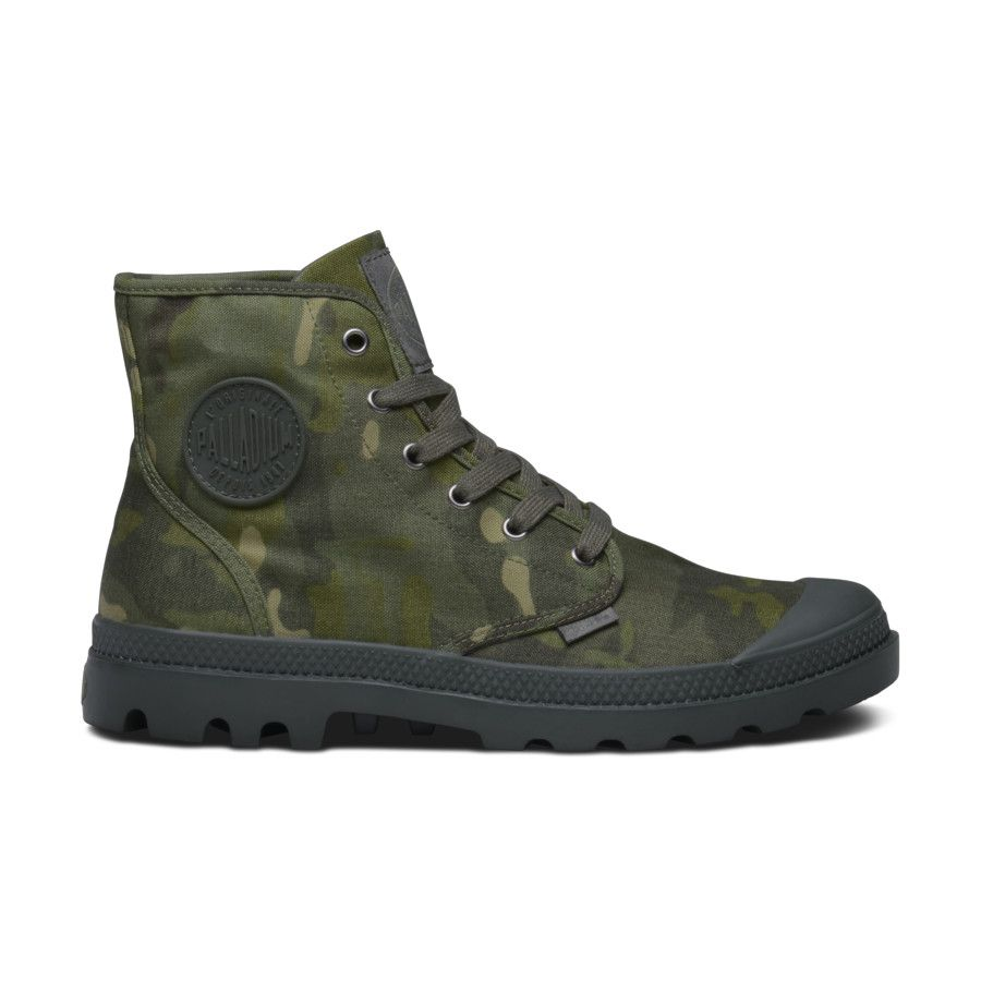 Palladium Boots Pamp Hi in MultiCam Tropic.   Fashion ...