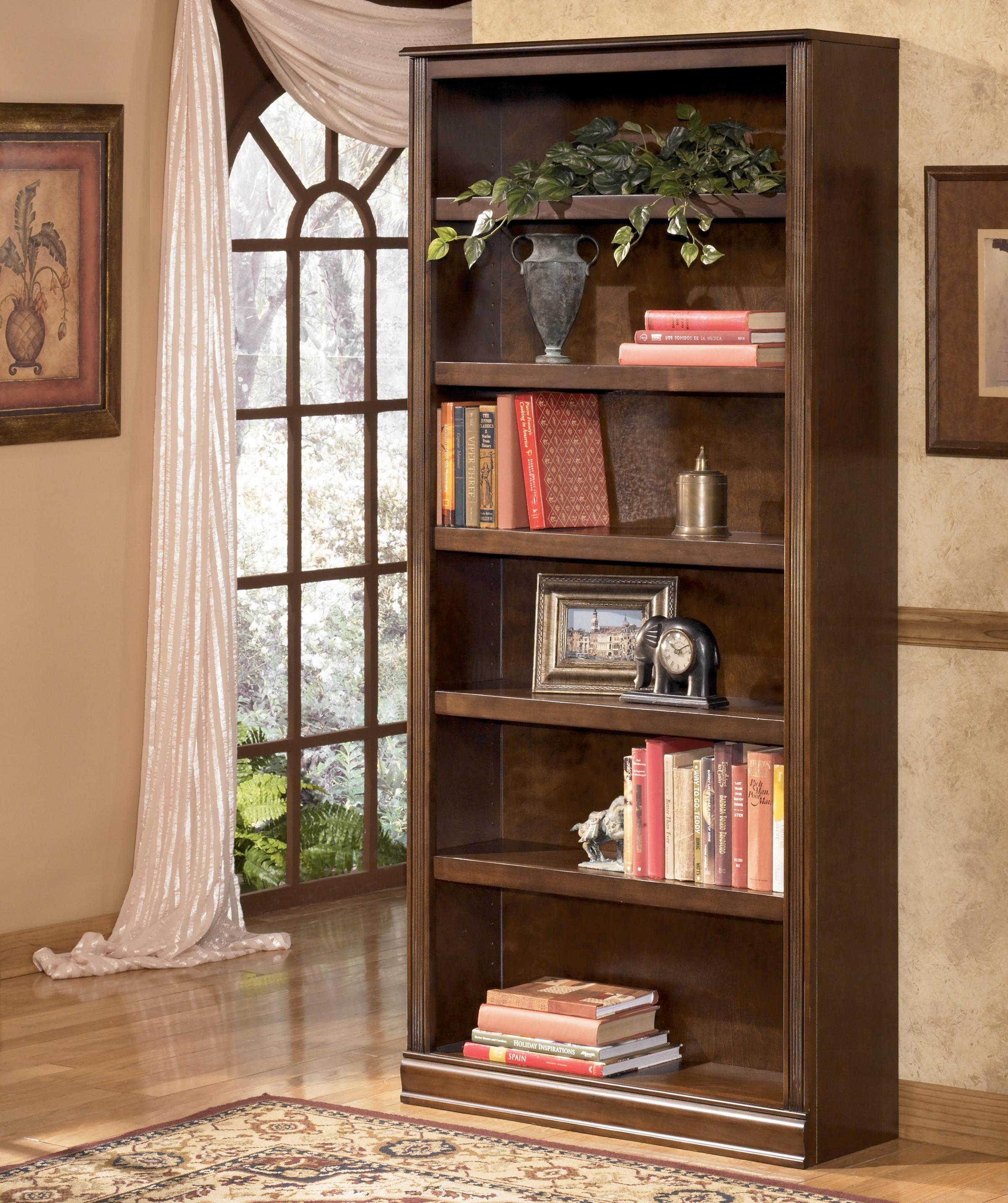 Hamlyn Large Bookcase By Ashley Furniture Large Bookcase Ashley Furniture Brown Bookcase