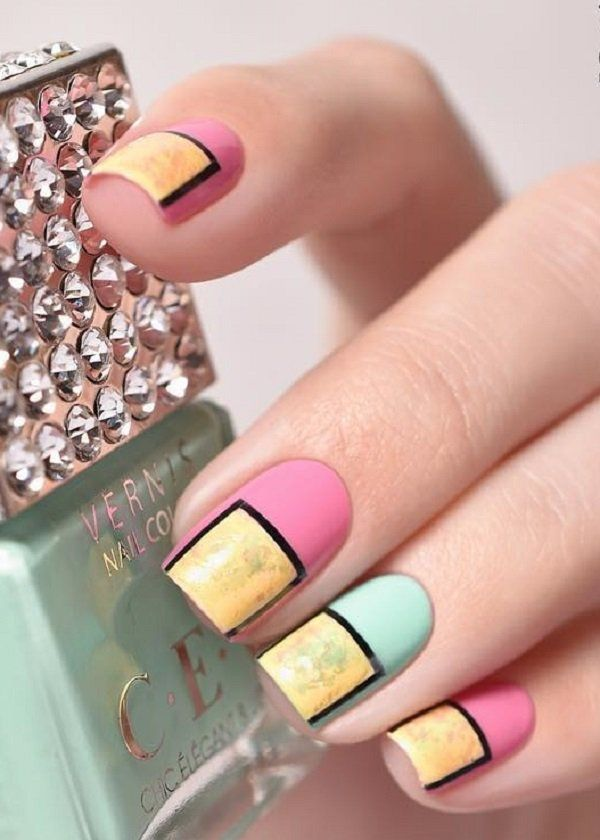 Stripes And Tape Nail Art Designs 2018 It May Stun You To