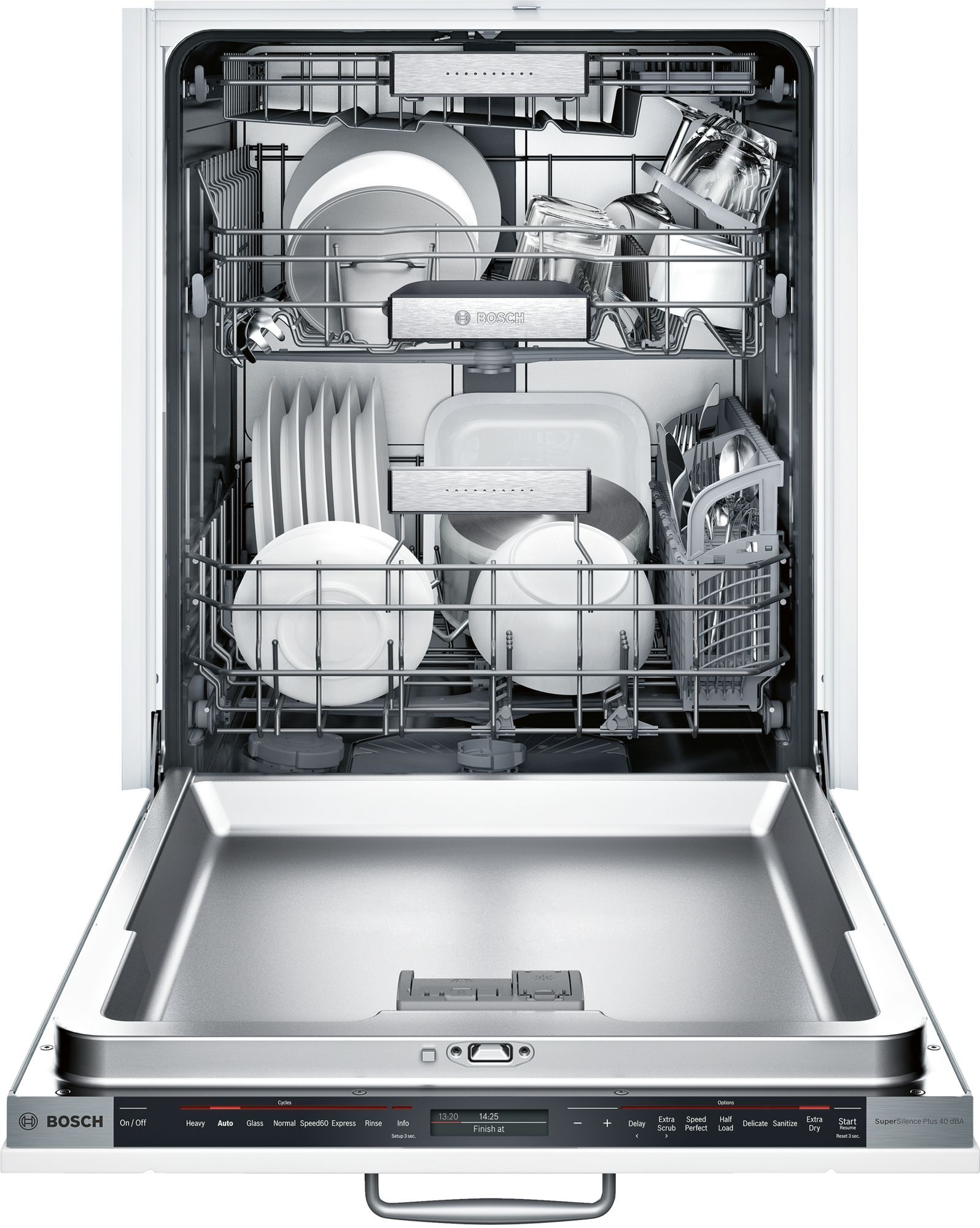 Bosch Shv89pw53n Dishwasher Integrated Dishwasher Bosch Dishwashers Built In Dishwasher