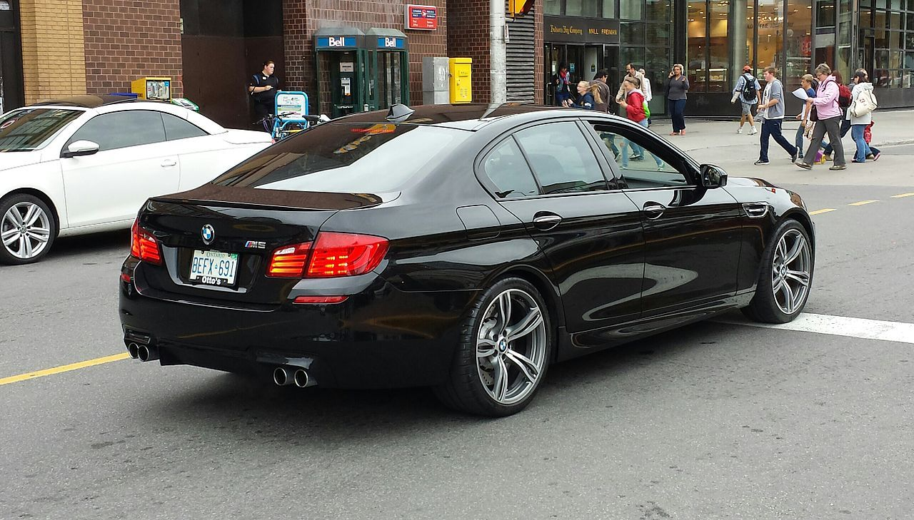 Black Bmw M5 F10 Rr Ottawa Bmw 5 Series F10 Wikipedia