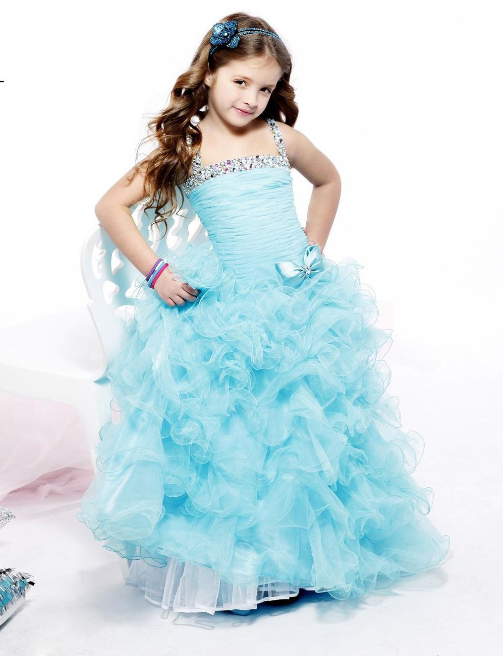 pagent beach dresses for kids | Children\'s Dresses – Sherri Hill ...