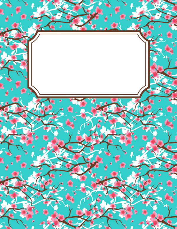 Free Printable Binder Cover Templates