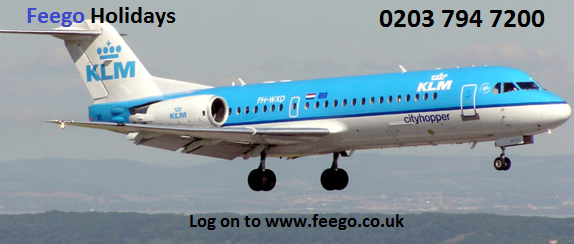 Find special last minute flight deals with KLM on Feego.co