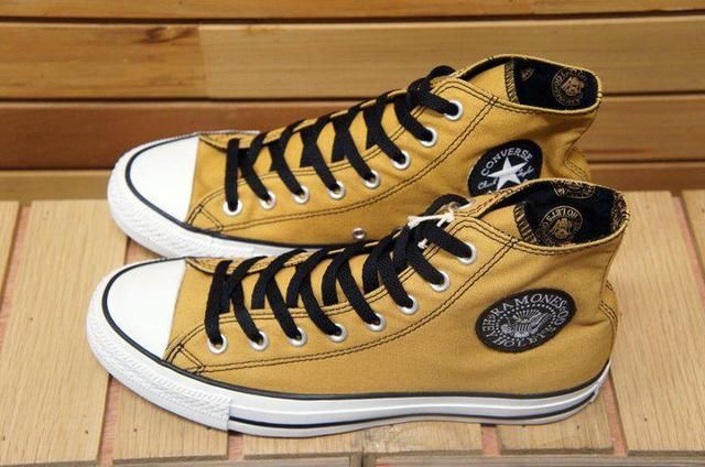 aa195a7edf23 CONVERSE X RAMONES HI YELLOW ! Sneaker Heels