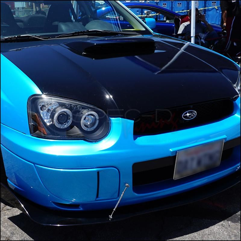 Spec-D Projector Headlights Subaru WRX [Dual Halo LED] (04