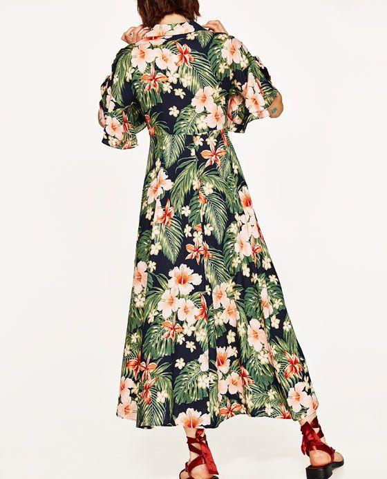 Zara Checked Short Sleeves Yellow Mini A Line Flare Dress M UK 10 US 6 Blogger❤