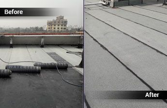 Attractive Alexextrusions Ensures Smooth Terrace Waterproofing With Roff Hyproof Which  Is An Easy To Use Liquid Integral