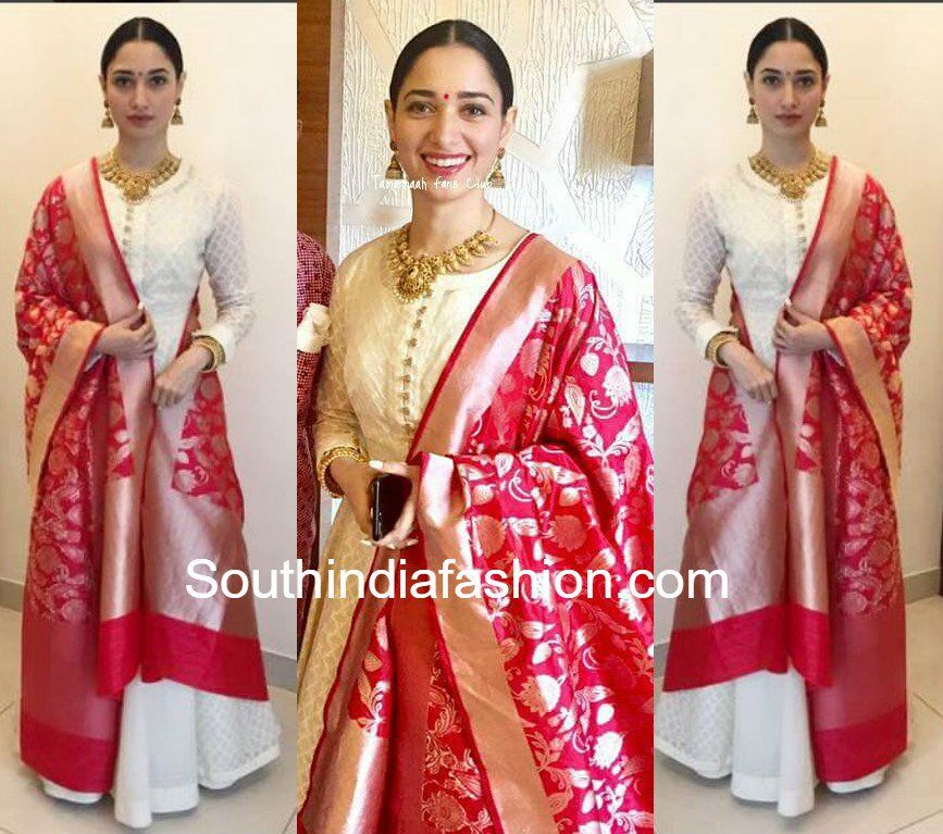 Tamannaah Bhatia in Matsya | Indian Ensembles! | White ...