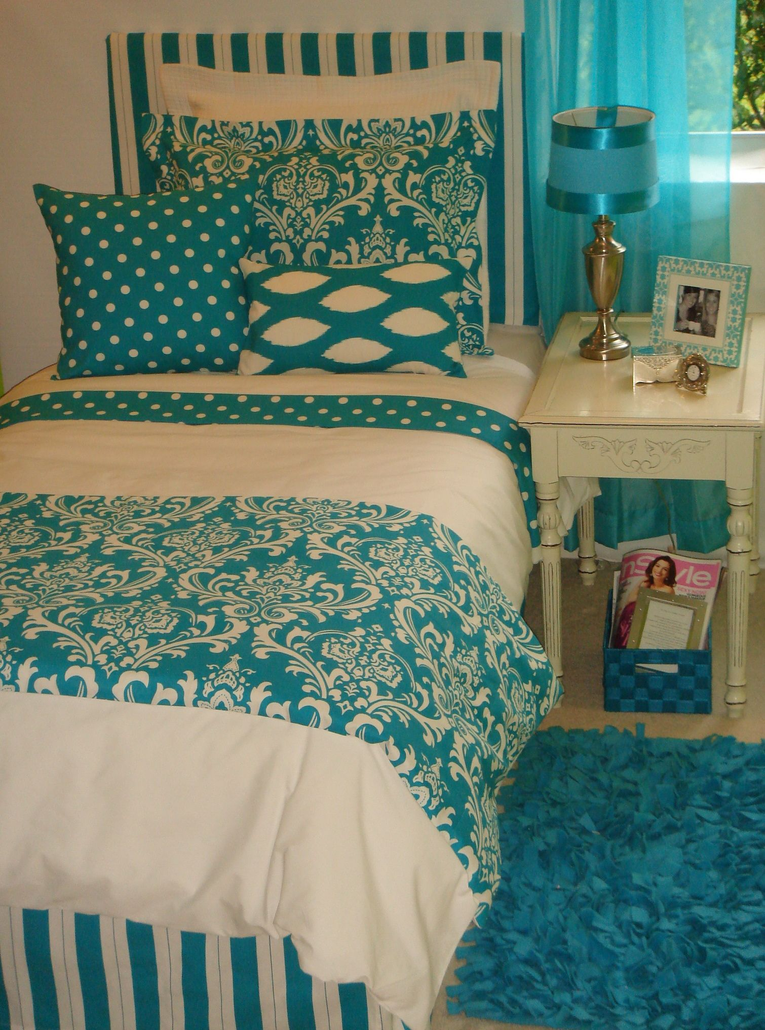 Dorm Bedding Decor 25 Teal Bedroom Designs You Will Love To Copy Turquoise Cute