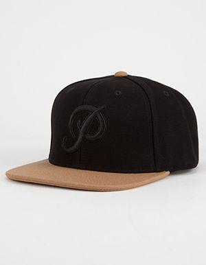 17e7c5f5 PRIMITIVE Classic P Canvas Mens Snapback Hat Black | snapback in ...