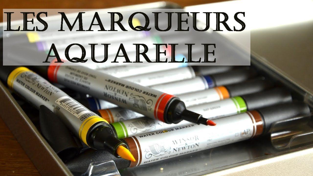 Epingle Par Yako Lorinquer Sur Aquarelle Marqueur Feutre