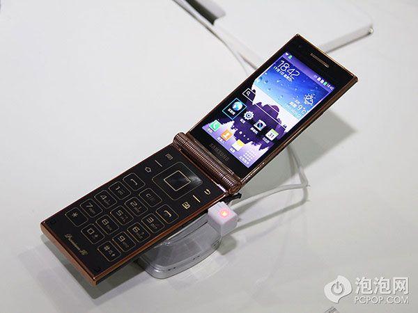 New Samsung W2014 flip phone runs Snapdragon 800 processor - GSMArena.com news