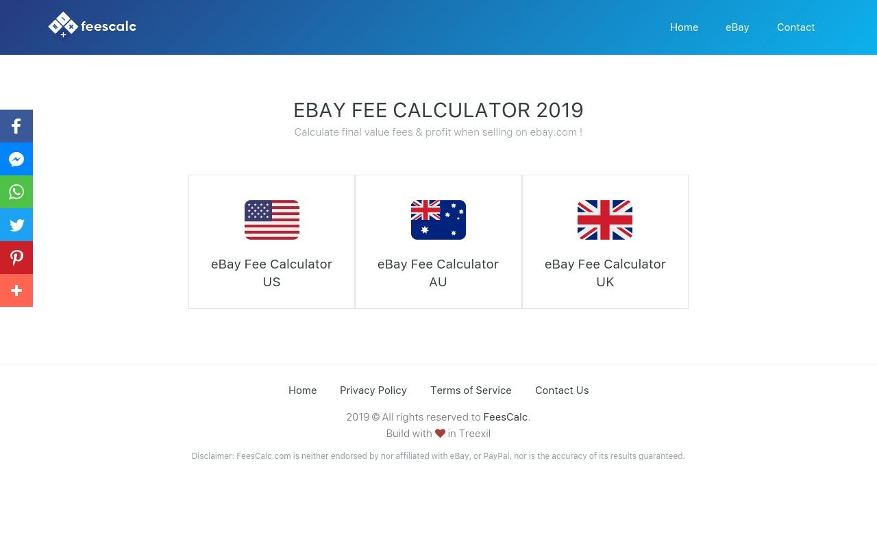 Feescalc Is A Free Ebay Fee Calculator Tool To Calculate Your Final Value Fees Profit When Selling On Ebay Uk Up To Date With The Latest Ebay Uk Fee
