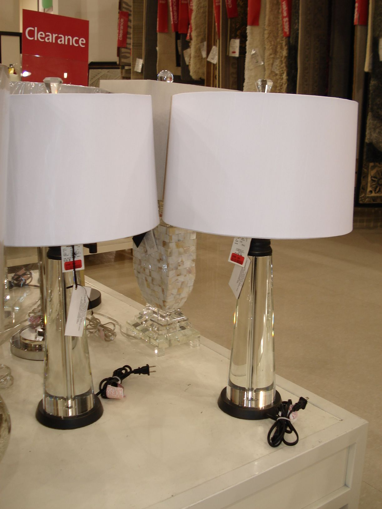 High Quality The Perfect Lamps For The Server   From Homesense!