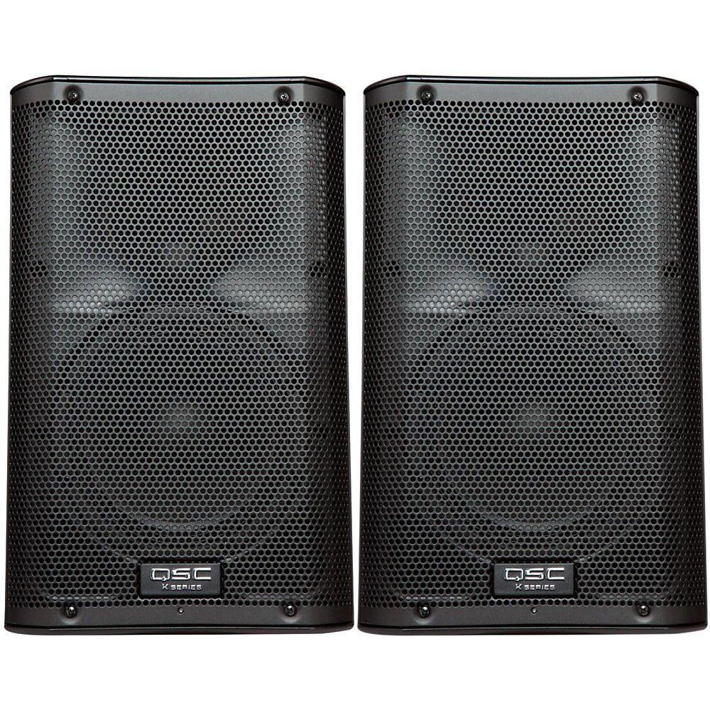 Qsc K10 Speaker Pair Pa Speakers Frequency Response