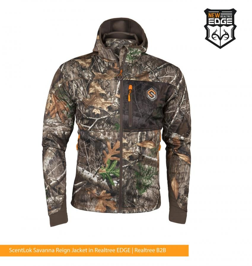 d6935ddf2a5f5 ScentLok Savanna Reign Early Season Jacket in Realtree EDGE | New 2018 Hunting  Clothes, Reign