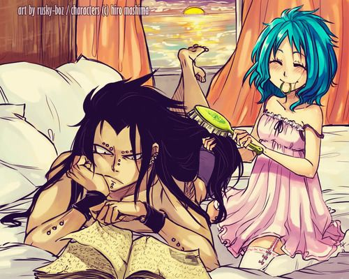 Gale Moments Fairy Tail