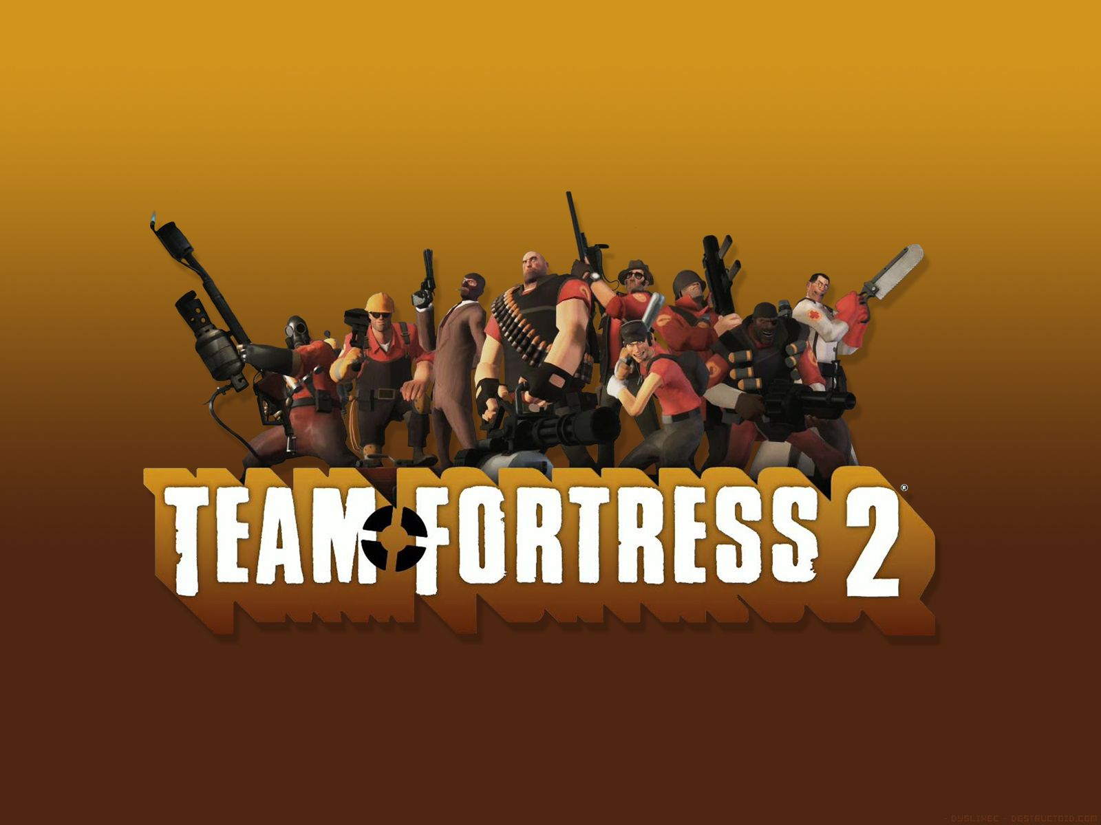 team fortress 2 logo wallpaper