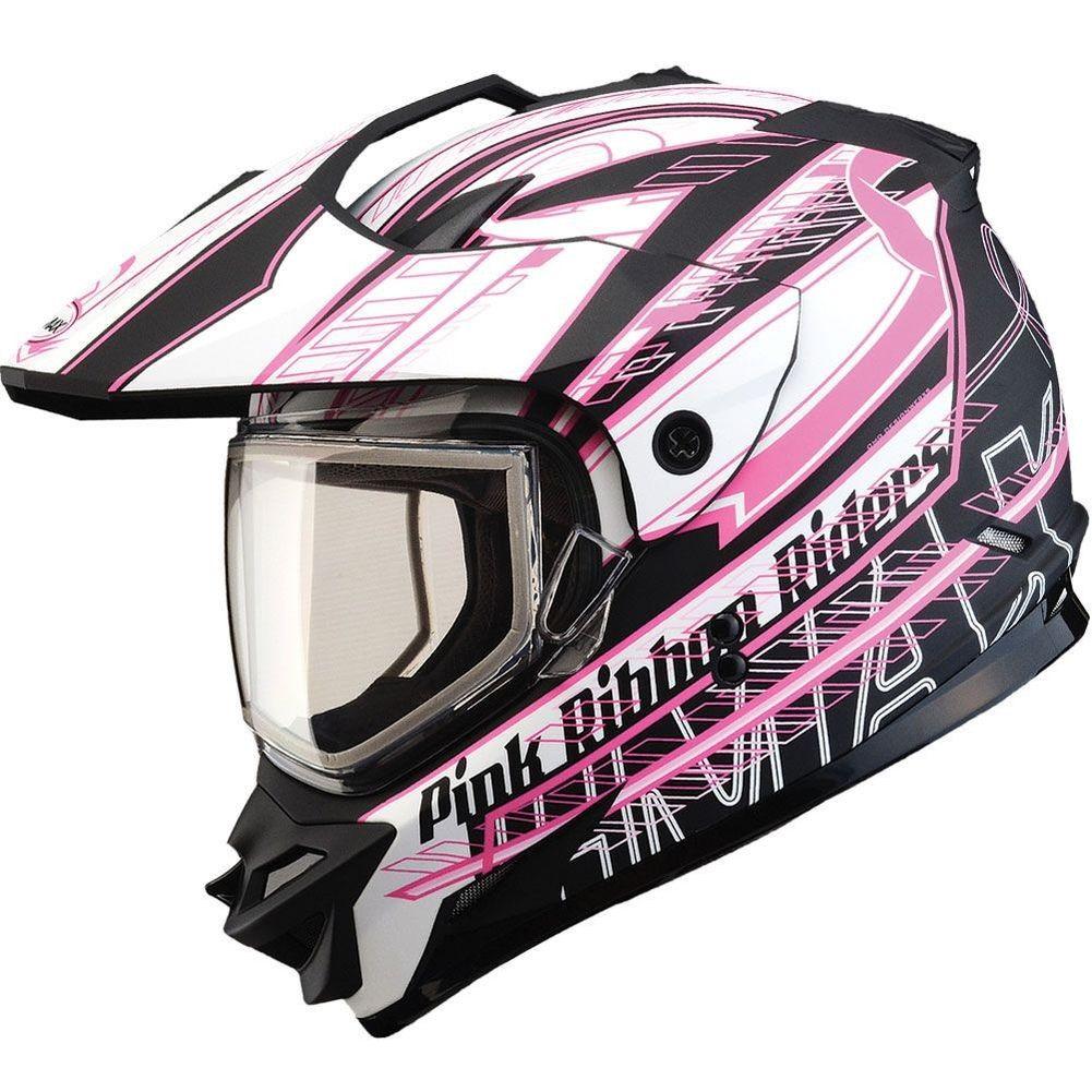 DP GMax GM11S Pink Ribbon Snow Sport Womens Helmets